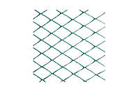 Сетка декоративная Клевер - 1,5 x 10 м (30 x 30 мм) т-зеленая