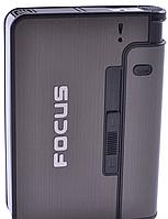 Портсигар із запальничкою і викидом сигарет Focus 4938, фото 1