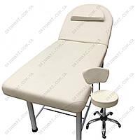 Кушетка косметологічна CH-266A+стілець майстра CH-591