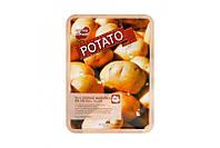 Маска для лица тканевая успокаивающая с экстрактом картофеля Real Essence Mask Pack Potato May Island