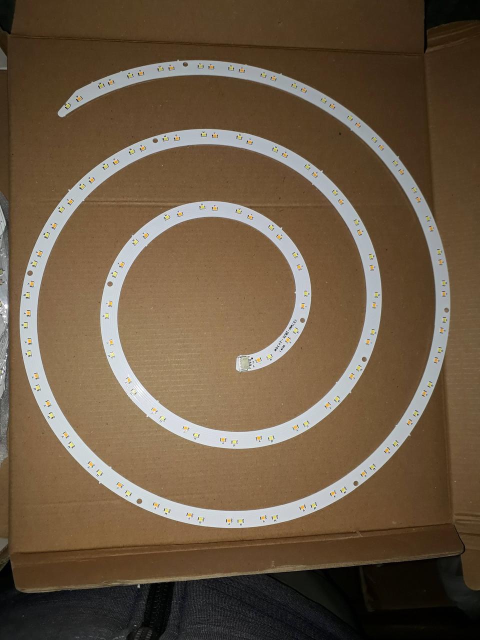 Двойной Светодиод 2х36w 2B36C*2 Светодиод Д397 мм. для светильника таблетка / Матрица для таблетки