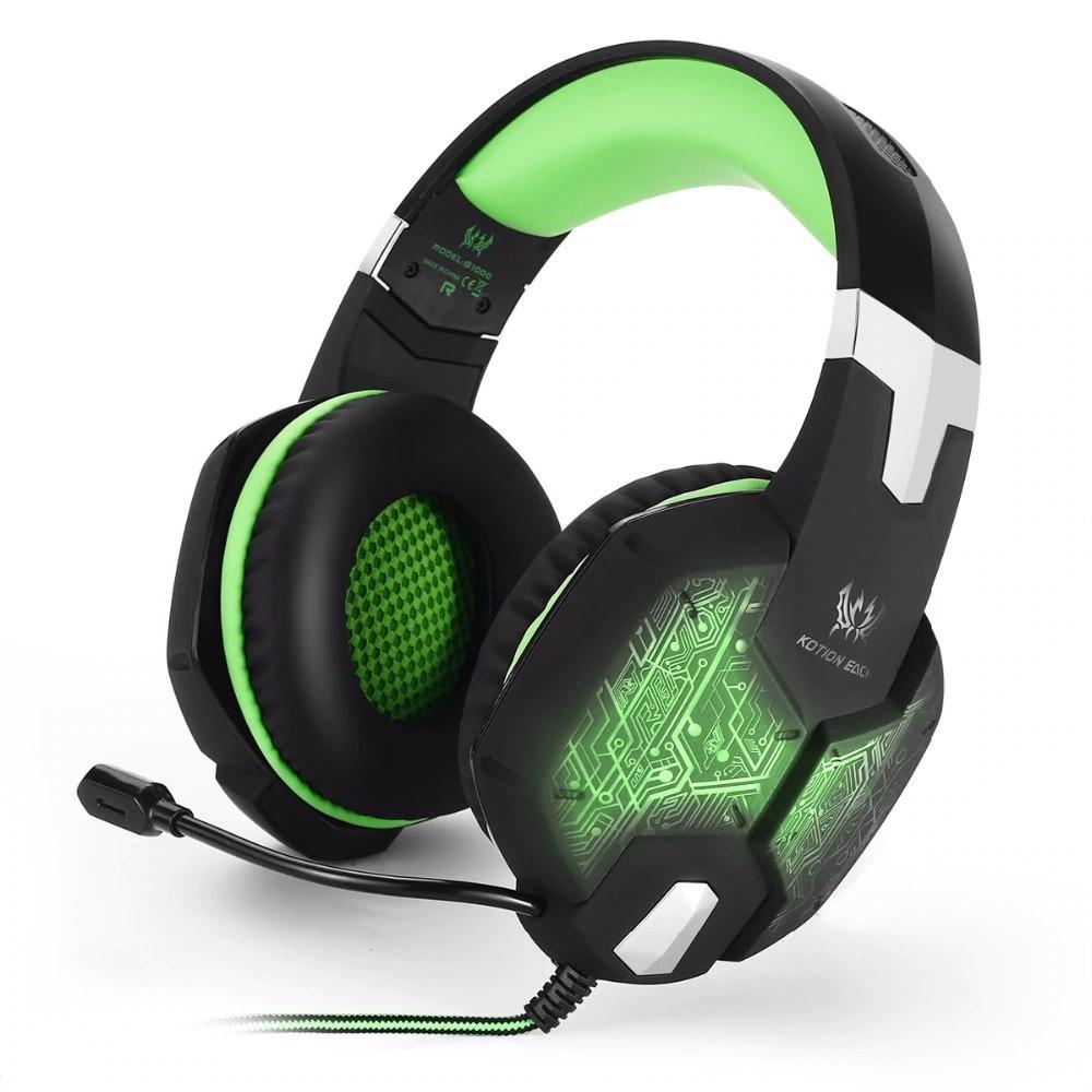 Наушники Kotion Each G1000 Green Black