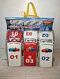 Набор машинок 731 ABC    инер-я, спецтехника,13,5 см, 3 шт в кульке, 19-19,5-6,5 см, фото 2