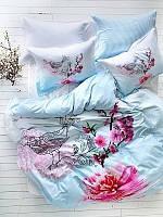 Комплект постельного белья Crasy Acik Mavi