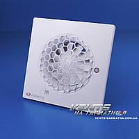 Вентс 100 Квайт - С Т (с таймером). Бытовой вытяжной вентилятор, фото 1