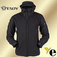 Тактическая куртка водоотталикивающая, Soft Shell ESDY
