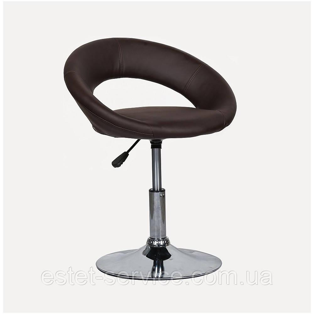 Кресло косметическое HC104N на низкой барной основе в ЦВЕТАХ кожзама