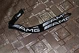 Шнурок на шею для ключей  AMG  чёрный, фото 2