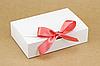 """Коробка """"Стильная-мини"""" М0028-о8 белая, размер: 195*130*50 мм"""
