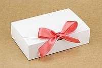 "Коробка ""Стильная-мини"" М0028-о8 белая, размер: 195*130*50 мм, фото 1"