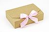 "Коробка ""Стильная-мини"" М0028-о9 крафт, размер: 195*130*50 мм"