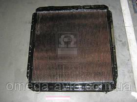 Радиатор охлаждения КАМАЗ 5320 (3-х рядный) медный (Дорожная Карта) 5320-1301010-С