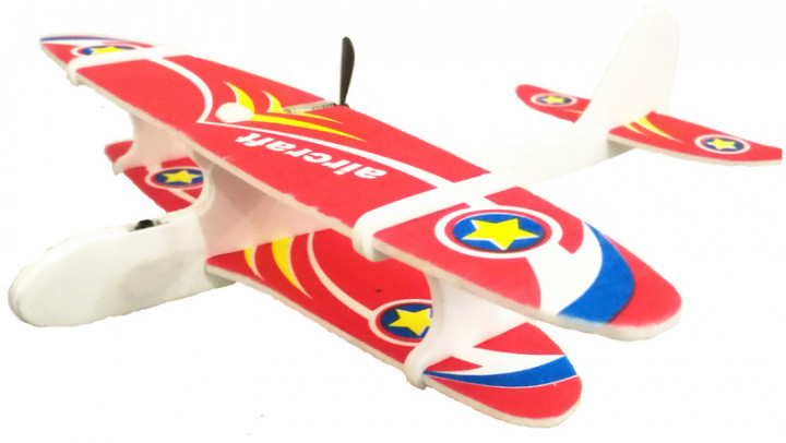 Метательный планер с моторчиком Aircraft G4 Planer USB (iTG4)