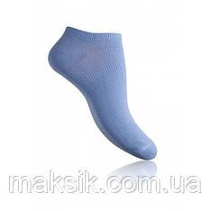 Короткие однотонные женские носочки Легка Хода