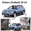 Брызговики MGC Subaru Outback Америка 2009-2014 г.в. комплект 4 шт J101CAL101, J101CAL104, фото 4