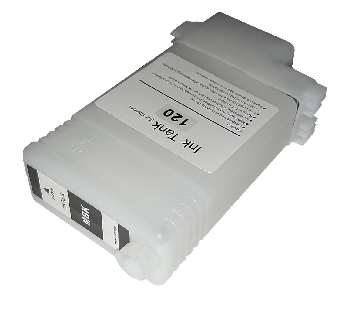 Перезаправляемый картридж Ocbestjet для плоттеров Canon iPF670/iPF770 с чипом PFI-107 Matte Black (130 мл)
