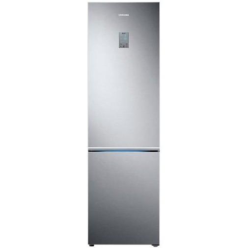 Холодильник з морозильною камерою Samsung RB37K6033SS