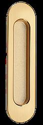 Ручки MVM для раздвижных дверей SDH-1 PB/SB полированная латунь/матовая латунь