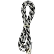 USB кабель ткань (микс) micro-usb