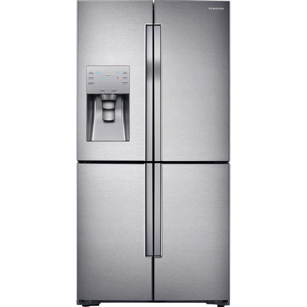 Холодильник з морозильною камерою Samsung RF56J9041SR