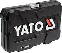 Набор инструмента с короткими и длинными головками YATO YT-14481, фото 3