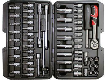 Набор инструментов 56 предметов YATO YT-14501