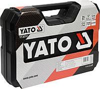 Набор головок для ремонта автомобиля YATO YT-38741, фото 4