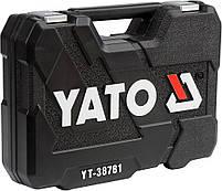 Набор инструментов с ключами YATO YT-38781, фото 3