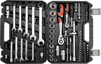 Набор инструментов с ключами для ремонта авто YATO YT-12691