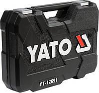 Набор инструментов с ключами для ремонта авто YATO YT-12691, фото 2