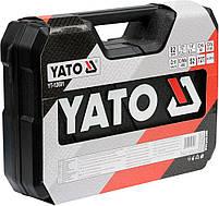 Набор инструментов с ключами для ремонта авто YATO YT-12691, фото 3