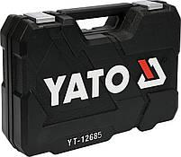 Набор инструментов 100 предметов с аккумуляторной отверткой YATO YT-12685, фото 3