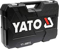 Набор инструмента для ремонта авто с насадками YATO YT-38872, фото 3