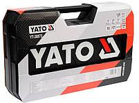 Набор инструмента для ремонта авто с насадками YATO YT-38872, фото 4