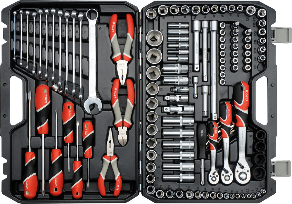 Набор инструмента для авто с ключами YATO YT-38881