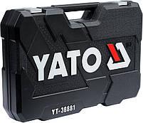 Набор инструмента для авто с ключами YATO YT-38881, фото 3