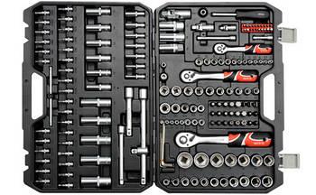 Набор инструмента для автомобиля с насадками YATO YT-38931