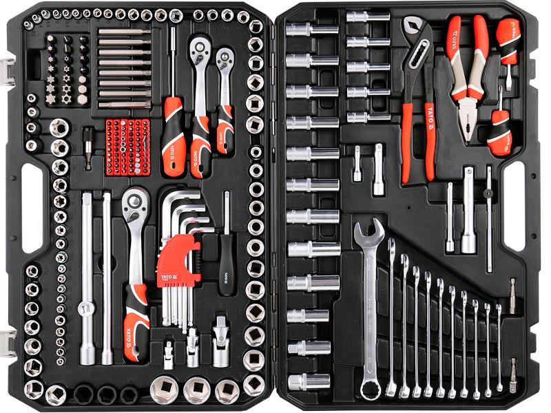 Набор инструментов 225 предметов YATO YT-38941