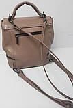 Сумка рюкзак шкіряна жіноча від виробника модель СР10-3, фото 2
