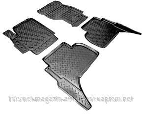 Коврики передние для Volkswagen Amarok 2010- г. полиуретан Норпласт.