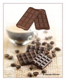 "Форма для шоколада "" Шоколадка"" 38*28 мм h 4,5 мм Silikomart"