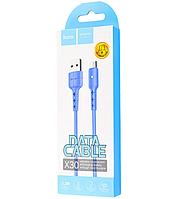 USB кабель  HOCO X30m Blue