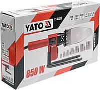 Паяльник для термопластиковых труб YATO YT-82250, фото 4