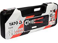 Гидравлический инструмент для обжима разъемов на металлопластиковых трубах YATO YT-21735, фото 4