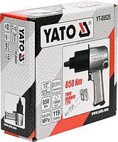 Пневматический гайковерт 850 Нм YATO YT-09525, фото 3