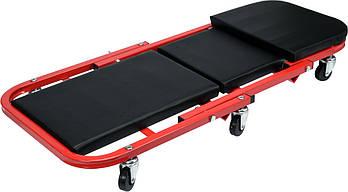 Лежак подкатной для авторемонта 2 в 1 YATO YT-08802