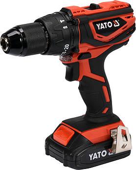 Двухскоростной аккумуляторный ударный шуруповерт YATO YT-82788