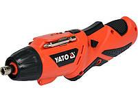 Аккумуляторная отвертка YATO YT-82760, фото 2