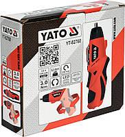 Аккумуляторная отвертка YATO YT-82760, фото 3