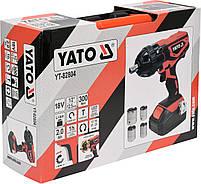 Гайковерт аккумуляторный YATO YT-82804, фото 5
